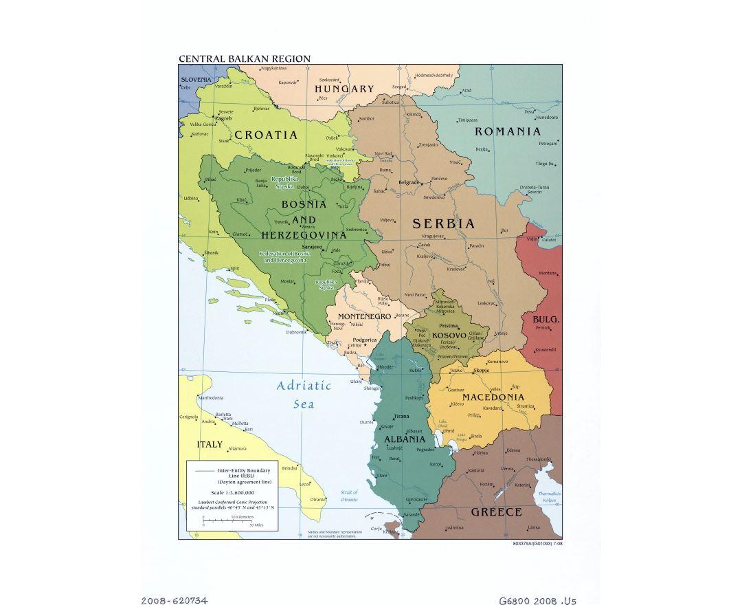 Montes Balcanes Mapa Geografico.Mapas De Balcanes Coleccion De Mapas De Balcanes Europa Mapas Del Mundo
