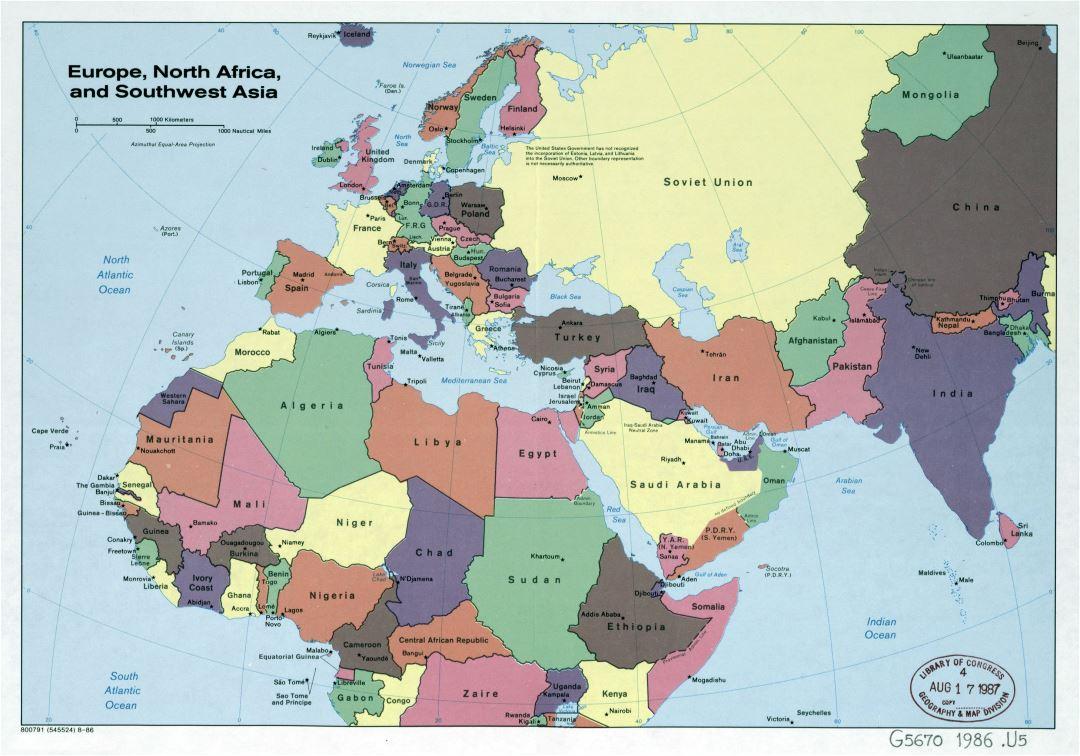 Mapa Europa Y Asia Ardusat Org