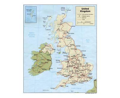 Mapas De Reino Unido Colección De Mapas De Reino Unido Europa Mapas Del Mundo
